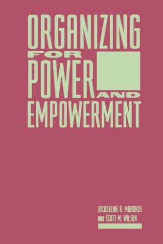 Organizing for Power and Empowerment 9780231067188