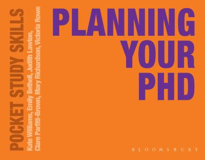 Planning Your PhD 9780230251939