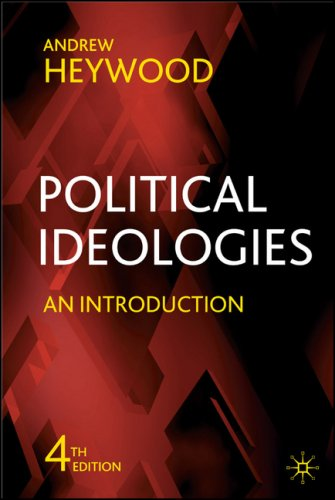 Political Ideologies: An Introduction 9780230521803
