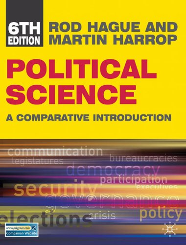 Political Science: A Comparative Introduction 9780230101142
