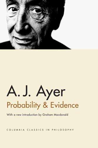 Probability & Evidence 9780231132756