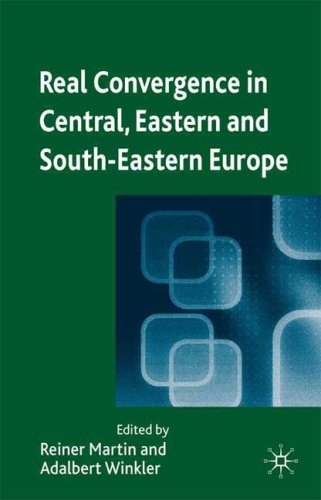 Real Convergence in Central, Eastern and South-Eastern Europe 9780230220188