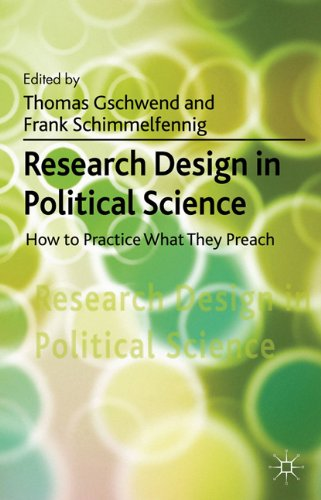 Research Design in Political Science: How to Practice What They Preach 9780230301276