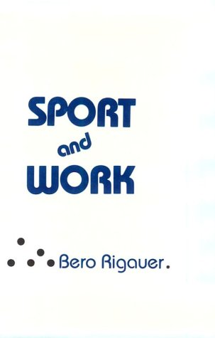 Sport and Work 9780231052009