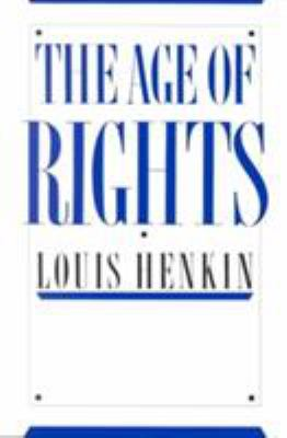 The Age of Rights 9780231064453