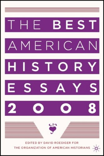 The Best American History Essays 9780230605916