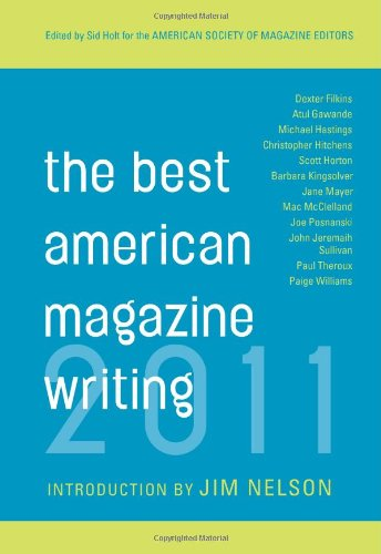 The Best American Magazine Writing 9780231159401