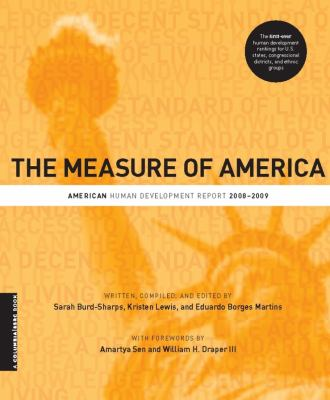 The Measure of America: American Human Development Report, 2008-2009 9780231154956