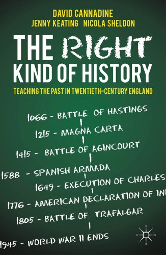 The Right Kind of History: Teaching the Past in Twentieth-Century England 9780230300873
