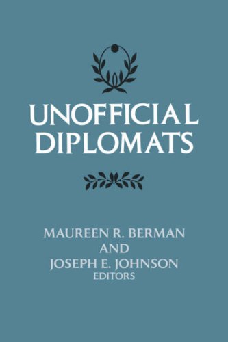 Unofficial Diplomats 9780231043977
