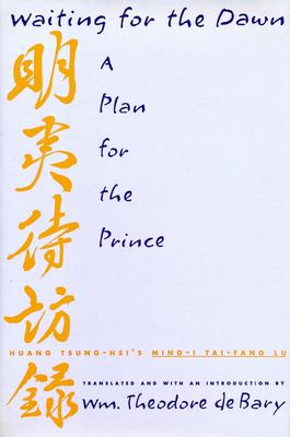 Waiting for the Dawn: A Plan for the Prince 9780231080972