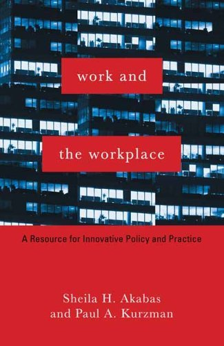Work and the Workplace: A Resource for Innovative Policy and Practice 9780231111676