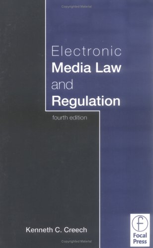 Electronic Media Law and Regulation 9780240805092
