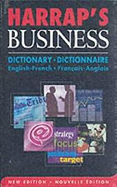 Harrap French-English/English-French Business Dictionary