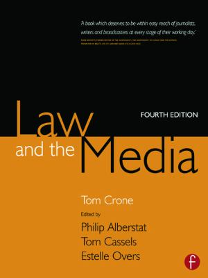 Law and the Media 9780240516295