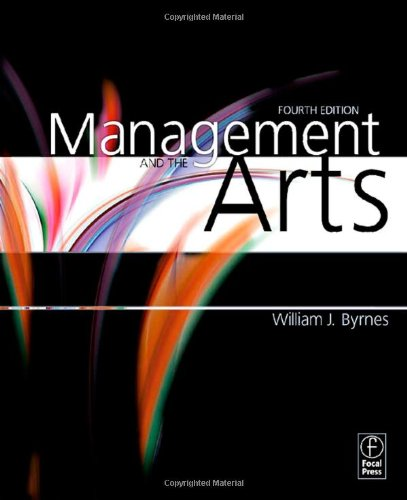 Management and the Arts 9780240810041
