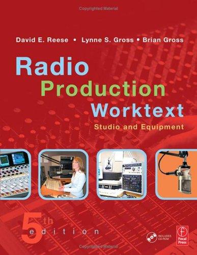Radio Production Worktext: Studio and Equipment [With CDROM] 9780240806907