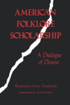 American Folklore Scholarship 9780253204721