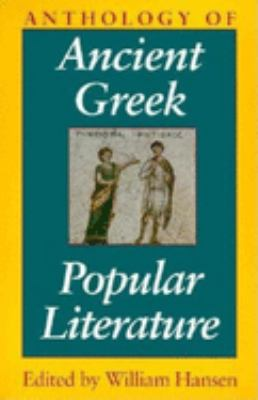 Anthology of Ancient Greek Popular Literature 9780253211576
