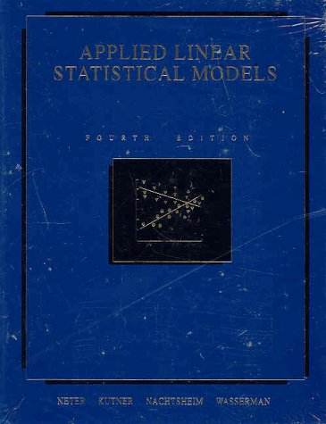 Applied Linear Statistical Models 9780256117363