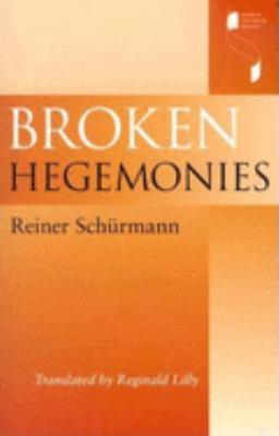 Broken Hegemonies 9780253215475
