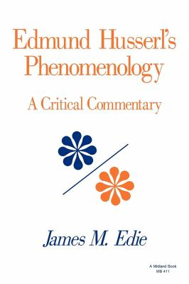 Edmund Husserl's Phenomenology 9780253204110