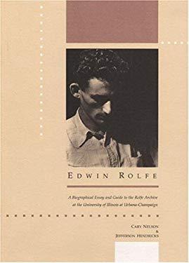 Edwin Rolfe 9780252017940