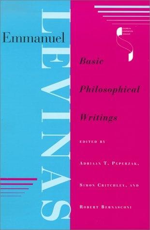 Emmanuel Levinas: Basic Philosophical Writings 9780253210791