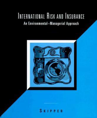 International Risk and Insurance 9780256233049