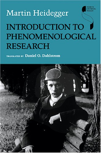 Introduction to Phenomenological Research 9780253345707