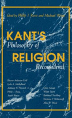 Kant's Philosophy of Religion Reconsidered 9780253350275