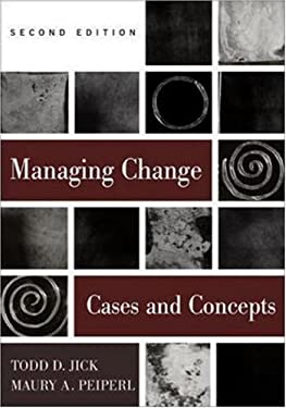 Managing Change: Text and Cases 9780256264586