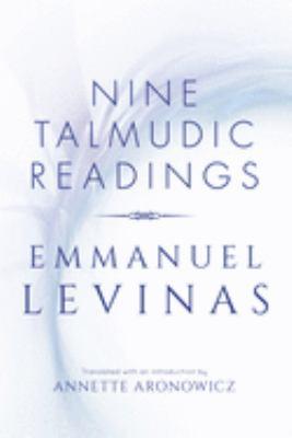 Nine Talmudic Readings by Emmanuel Levinas 9780253208767