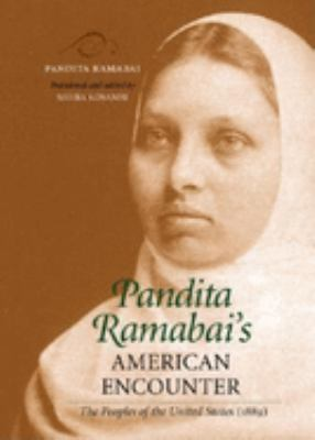 Pandita Ramabai's American Encounter: The Peoples of the United States (1889) 9780253341907