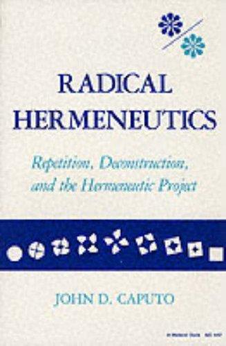 Radical Hermeneutics 9780253204424