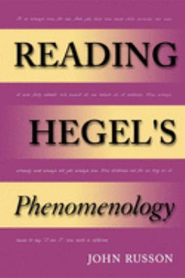 Reading Hegel's Phenomenology 9780253216922