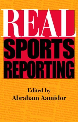 Real Sports Reporting 9780253216168