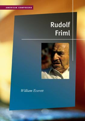 Rudolf Friml 9780252033810