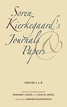 Sa, Ren Kierkegaard's Journals and Papers, Volume 3: L-R 9780253182425