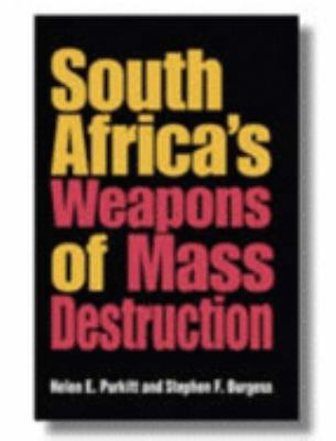 South Africa's Weapons of Mass Destruction 9780253345066