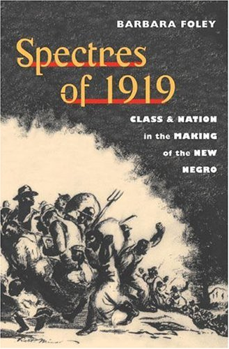 Spectres of 1919: Class and Nation in the Making of the New Negro 9780252028465