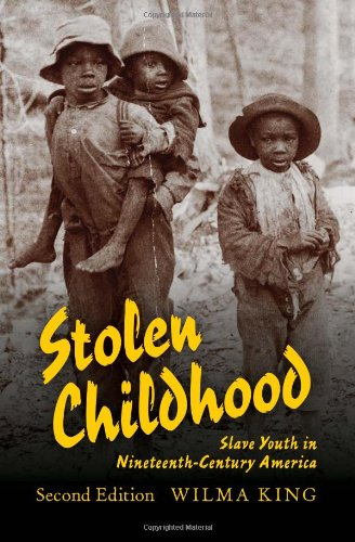 Stolen Childhood: Slave Youth in Nineteenth-Century America 9780253222640