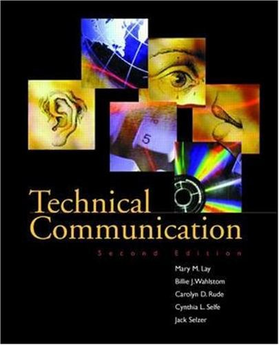 Technical Communication 9780256220582