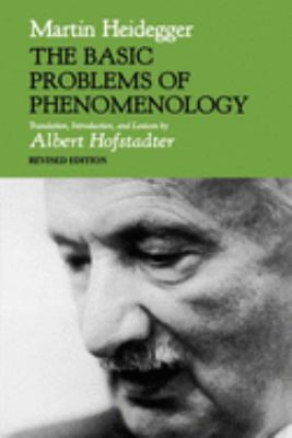 The Basic Problems of Phenomenology, Revised Edition 9780253204783