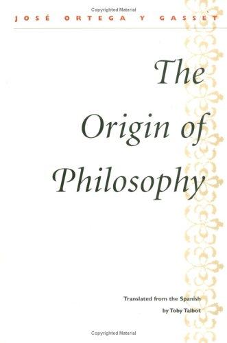 The Origin of Philosophy 9780252068966