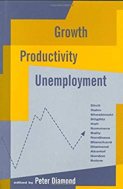 Growth/Productivity/Unemployment: Essays to Celebrate Bob Solow's Birthday 9780262041102
