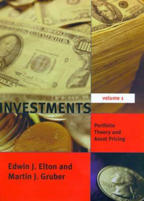 Investments - Vol. I: Portfolio Theory and Asset Pricing 9780262515313