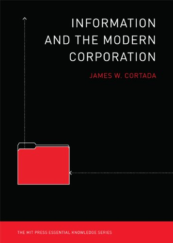 Information and the Modern Corporation 9780262516419