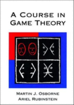 A Course in Game Theory 9780262650403