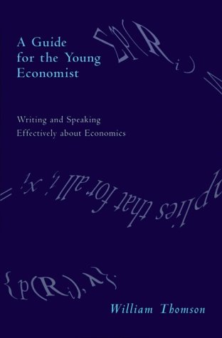 A Guide for the Young Economist 9780262700795